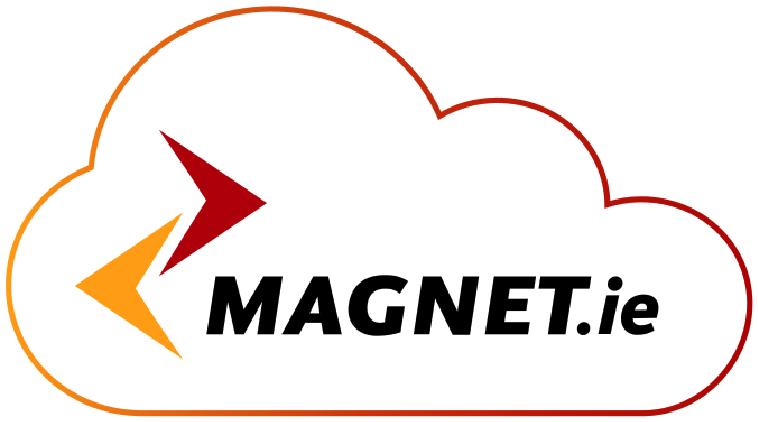 Magnet before logo