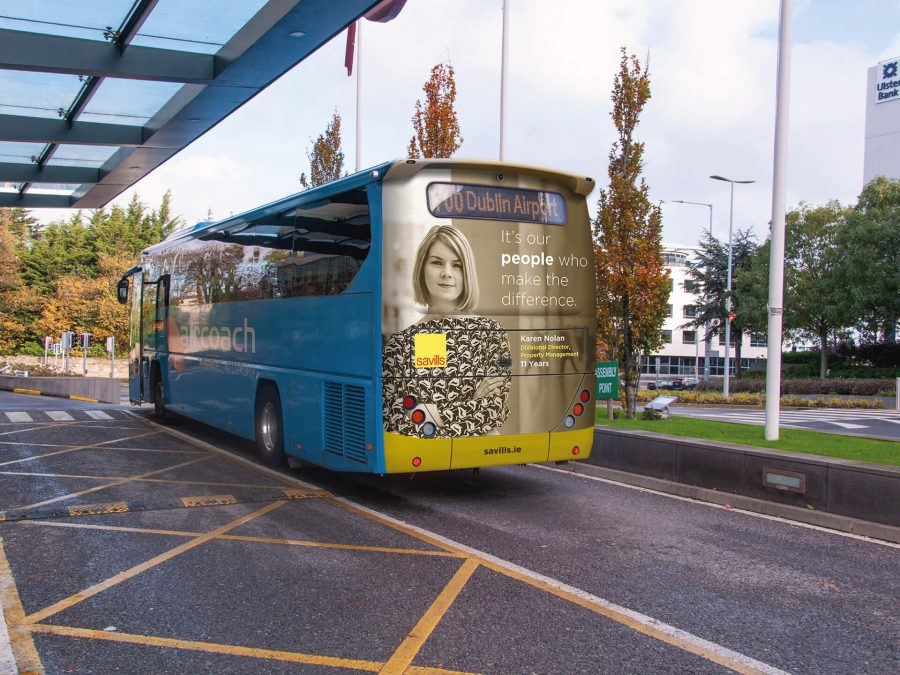 Savills Bus Mock Up