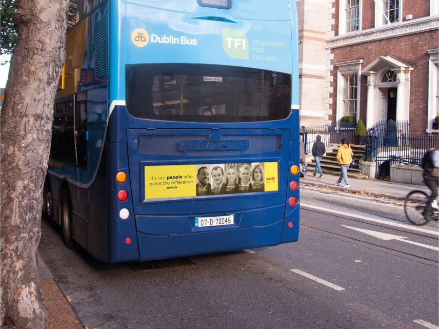 Savills Bus Mock Up Close Up