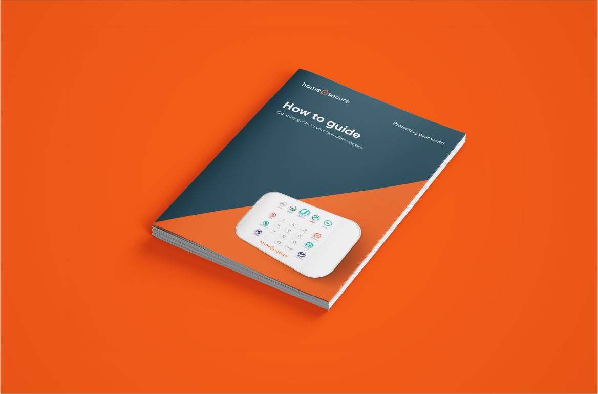Homesecure how-to-guide Mockup