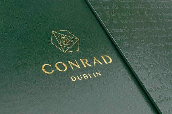 The Conrad brochure cover